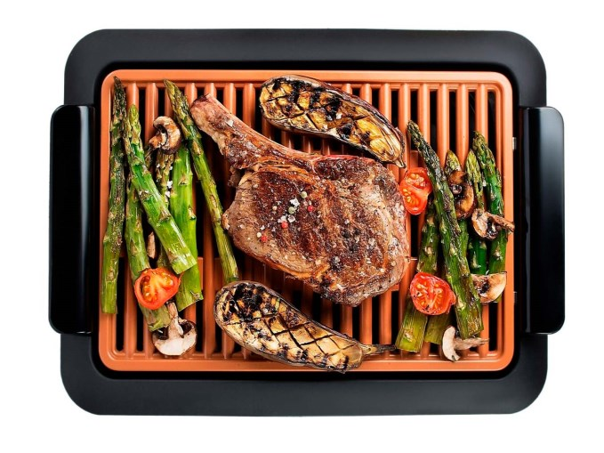 Parrilla Smokeless Grill Combo