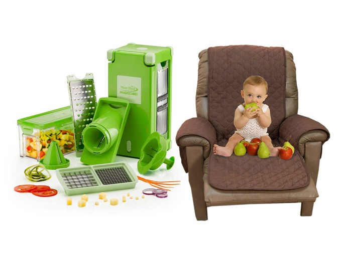 NICER DICER MAGIC CUBE + COUCH COAT CHAIR