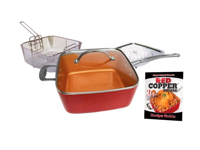 Set de sartén Red Copper