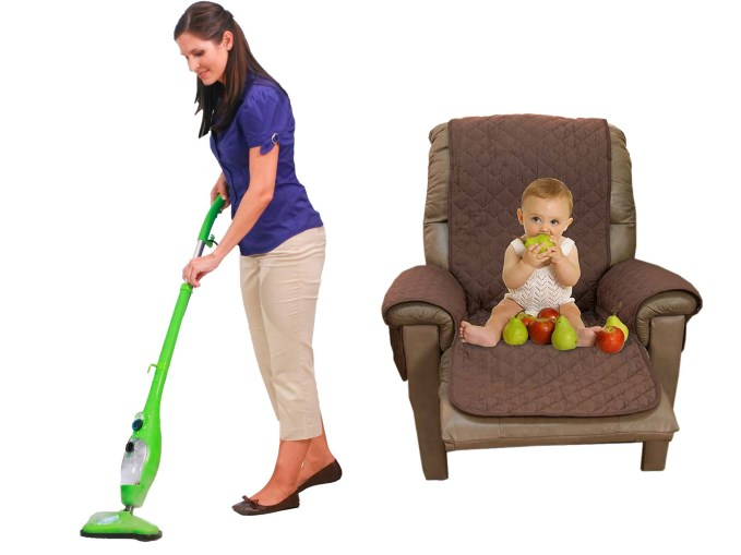 H20 MOP X5 + COUCH COAT CHAIR